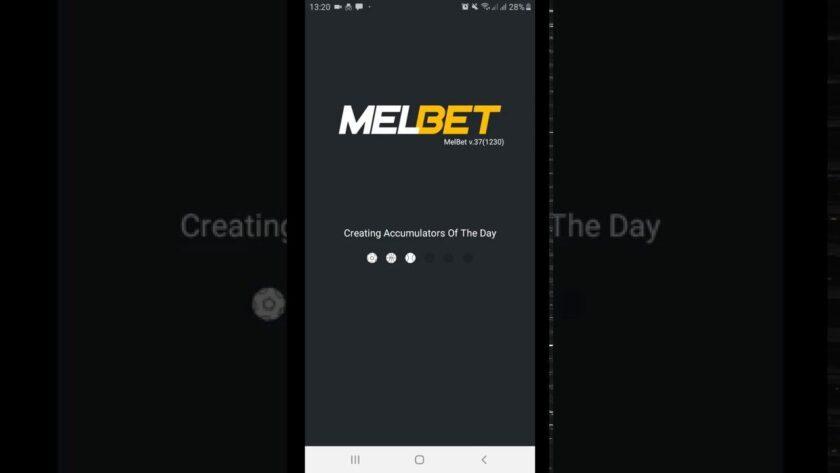 Melbet mobile app